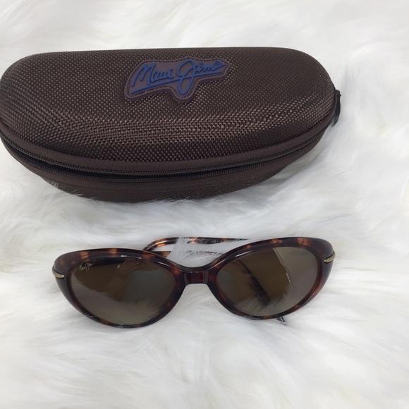 f0d491f3683d Maui Jim Cabana Tortoise Brown Sunglasses. M 5bf62fd8c89e1d541914175b